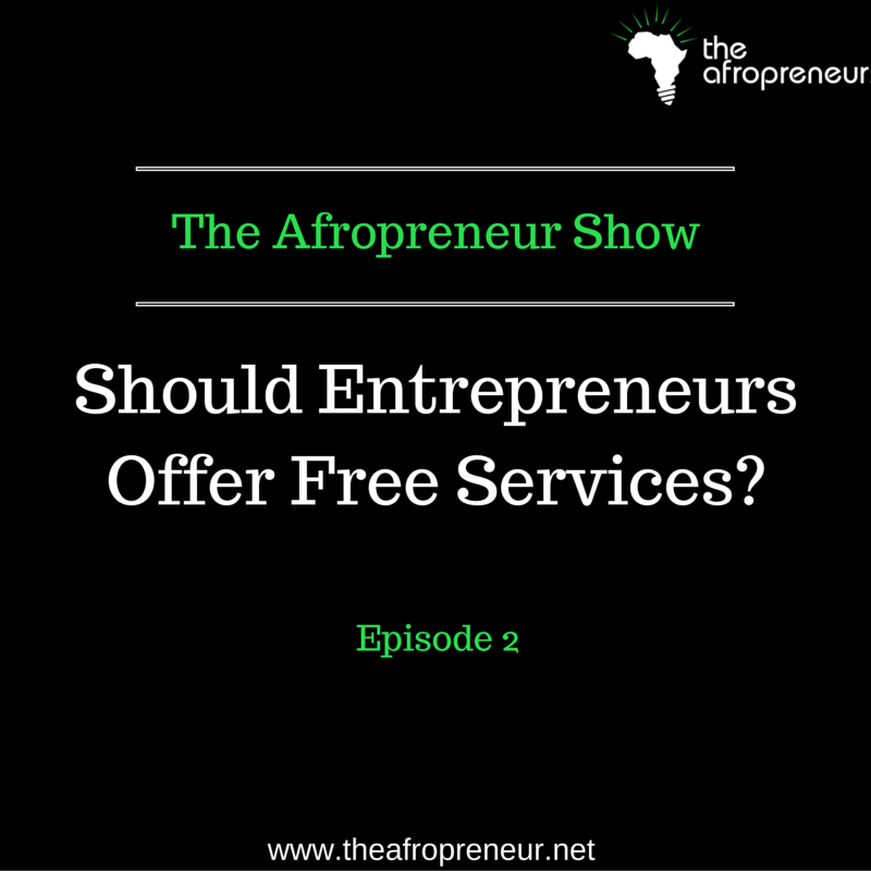 Ep2: Are Free Services Complusory for Budding Entrepreneurs? Lemi Ghariokwu Speaks