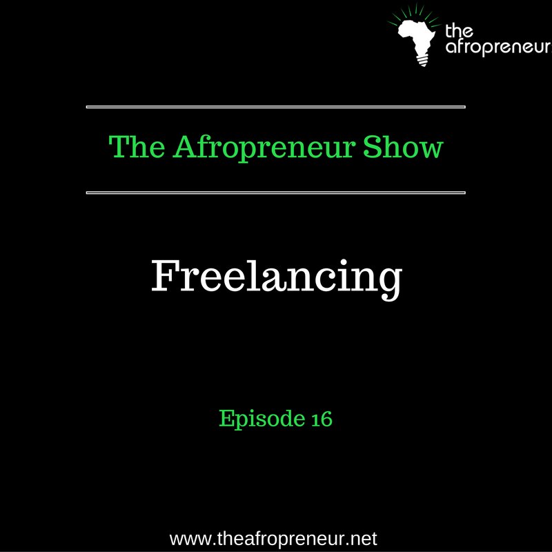 Ep16: Freelancing, Conversation with Eromo Egbejule