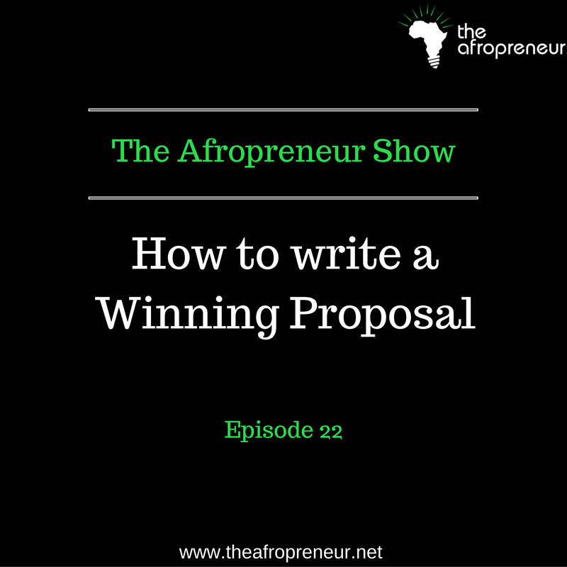 Ep23: How to write a winning proposal