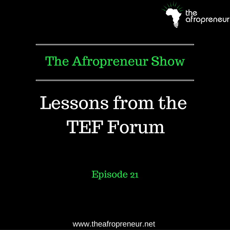 Ep21: Lessons from the TEF Forum