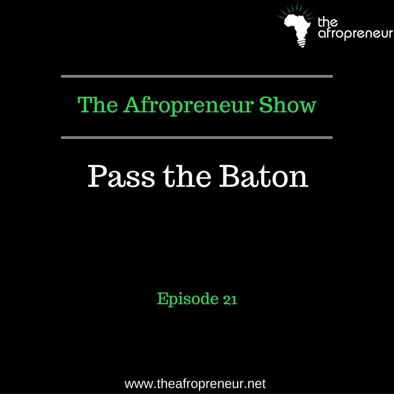 Ep22: Pass the Baton