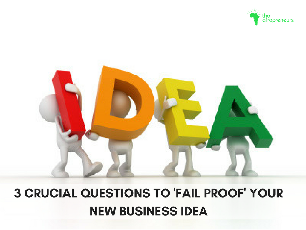 fail proof business ideas afropreneur