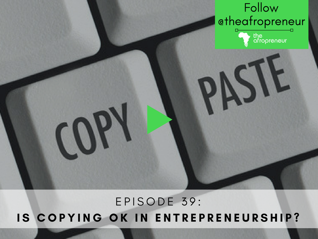 Copying Afropreneur POdcast Web